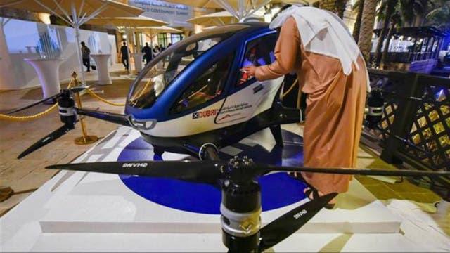 Así será el eHang184, el taxi-drone capaz de transportar a un único pasajero