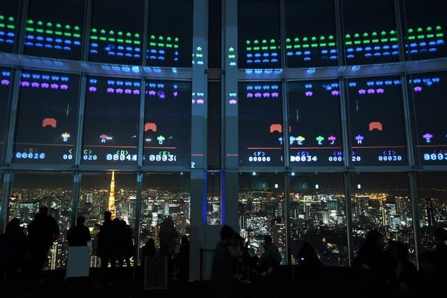 El edificio donde se puede jugar al Space Invaders para recordar su nacimiento hace 40 años