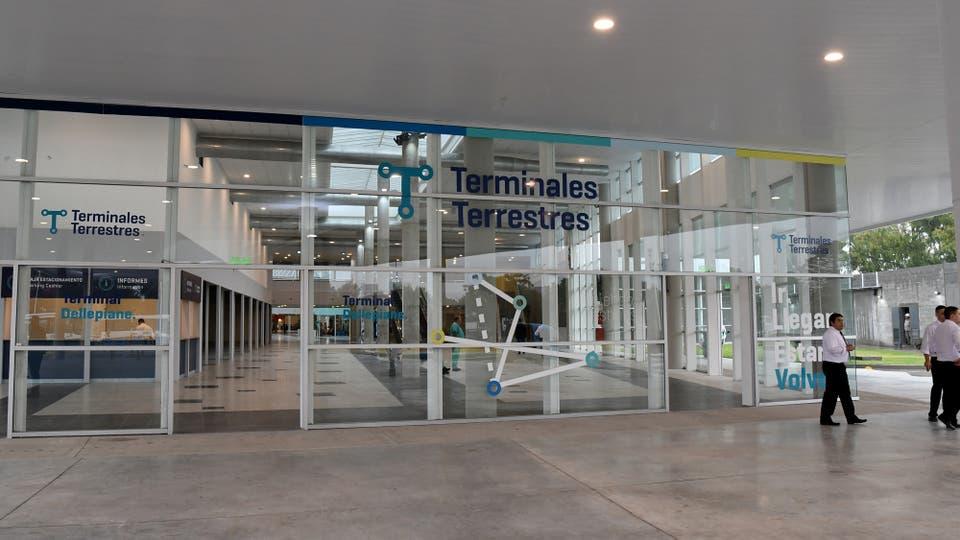 La Terminal Dellepiane de ómnibus de media y larga distancia en Villa Soldati ya está lista y operativa. Luego de dos años de espera y una inversión de más de US$ 30 millones,. Foto: Télam / Manuel Fernández