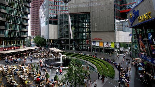 El Sony Center, nuevos aires en Potsdamer Platz