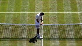 El césped de Wimbledon, el debate entre los jugadores