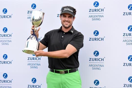 Samuel Del Val, ganador de Zurich Argentina Swing.
