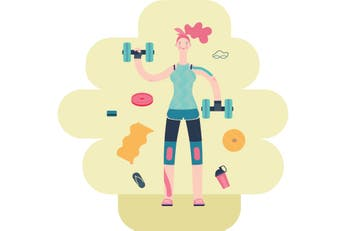 La piel también se entrena con el efecto de los aeróbicos