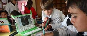 Los chicos de 5° grado en una escuela de 25 de agosto investigan sobre José de San Martín