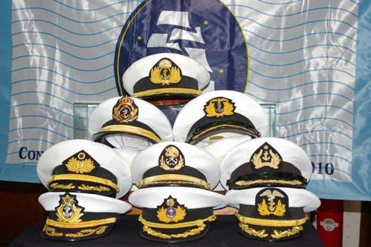 Las 9 gorras, todo un símbolo. Foto: Eduardo Olmos
