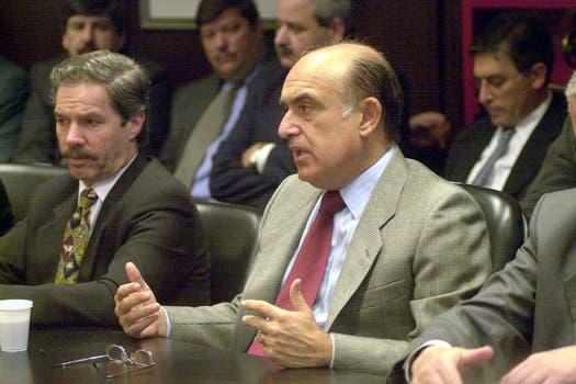 Carlos Ruckauf sucedió a Duhalde en 1999. Foto: Archivo