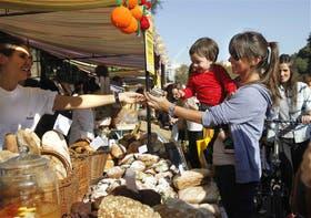 Los más chicos también disfrutaron de la cálida jornada en Buenos Aires Market