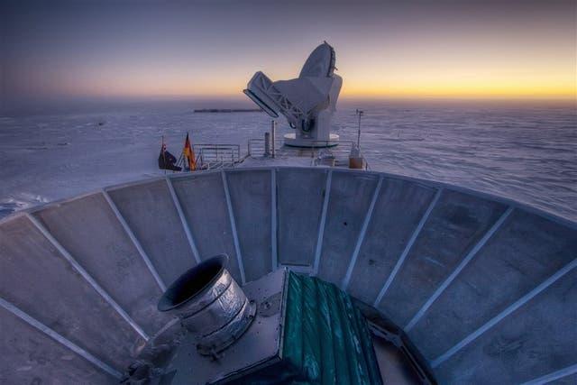El telescopio Bicep 2 permitió comprobar ecos del período en que se produjo la expansión del universo