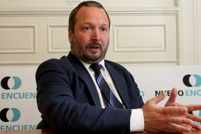 Martín Sabbatella, presidente de la Afsca