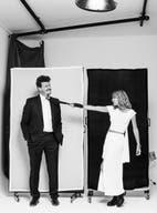 Moda y swing con Inés Estévez y Javier Malosetti