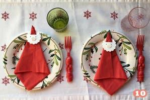 Decoración navideña: 4 DIY para llenar de color la mesa de los chicos