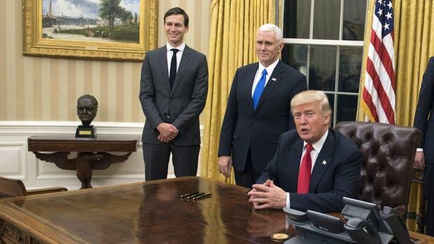 Donald Trump se reúne este sábado con agentes de la CIA en Virgina