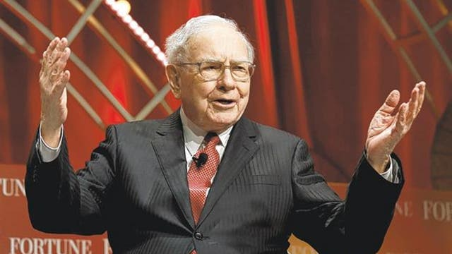 El financista Warren Buffett