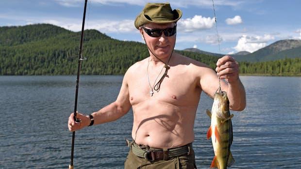 Las vacaciones aventureras de Putin dieron que hablar en Rusia y el mundo