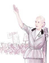 Hoy se cumplen 99 años del nacimiento de Eva Perón