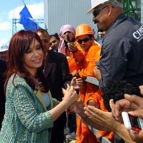 Urgencia: el mes pasado, la Presidenta inauguró una turbina que giró 20 días después