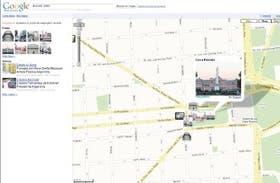 Así se ve el microcentro porteño y la ciudad de Mar del Plata en las diferentes opciones de Google Maps