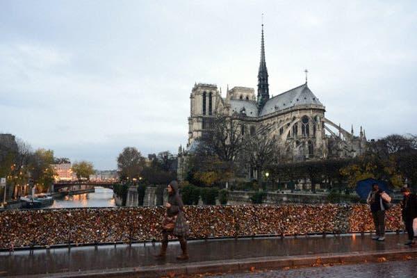 Pont de l''''Archeveche, París. Foto: Corbis