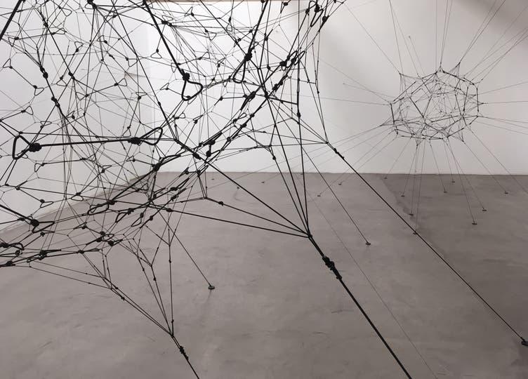 Vista de sala de la galería Ruth Benzacar