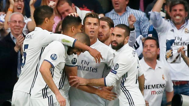 Real Madrid-Atlético de Madrid, por la Champions: Cristiano Ronaldo abrió el marcador