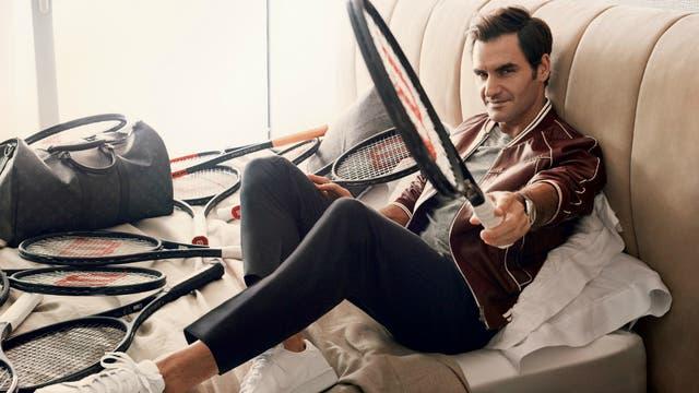 La producción de Federer