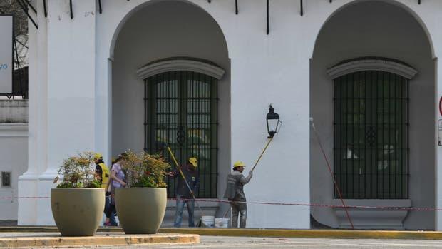 Así quedó la fachada de Cabildo tras la puesta en valor del Gobierno