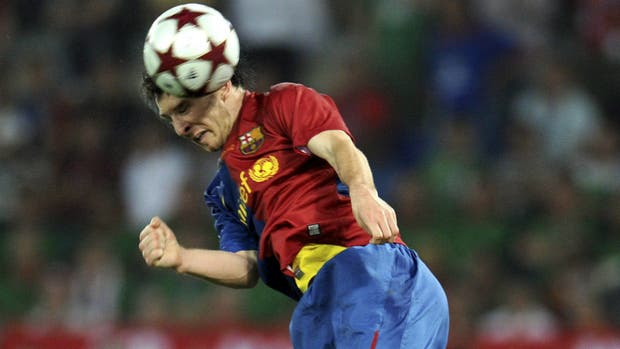 Una postal del tiempo: el gol de Messi a Manchester United para ganar la Champions 2009