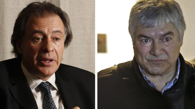 Cristóbal López y Lázaro Báez