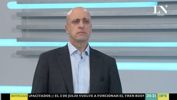 El periodista y analista político Carlos Pagni participará del especial de LN+