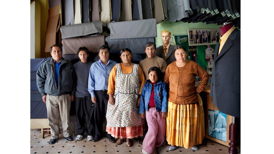 Familia de Sastres. Foto: Márcos López