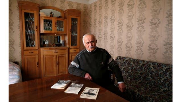 """Shalva Didebashvili, de 78 años. """"Stalin es para mi lo que Jesucristo es para los creyentes"""""""
