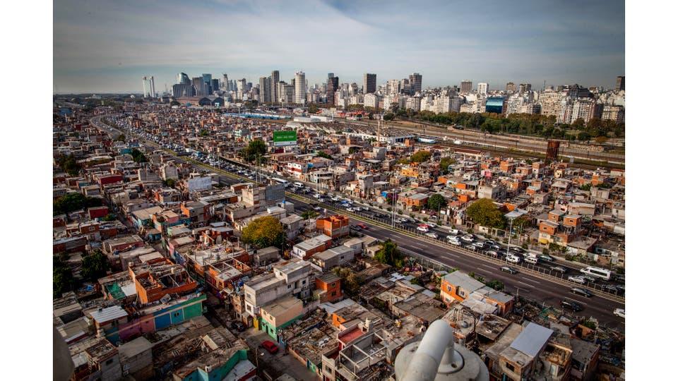 Vista aérea de la Villa 31