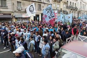 De la protesta participaron mujeres y niños