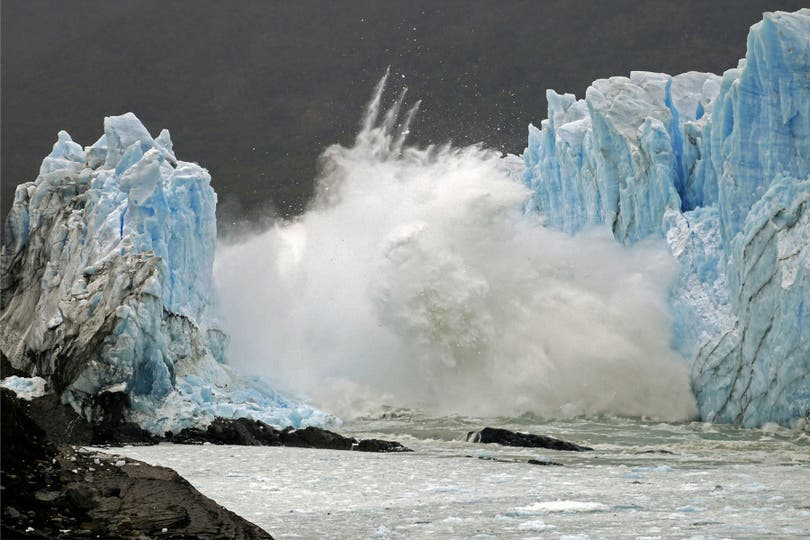Perito Moreno, un show que aún sorprende. Foto: AFP