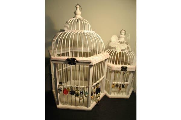 Si, en cambio, preferis las manualidades, mirá esta opción con jaulas de distintos tamaños. Foto: Vía Visit Somethingtobefound.com