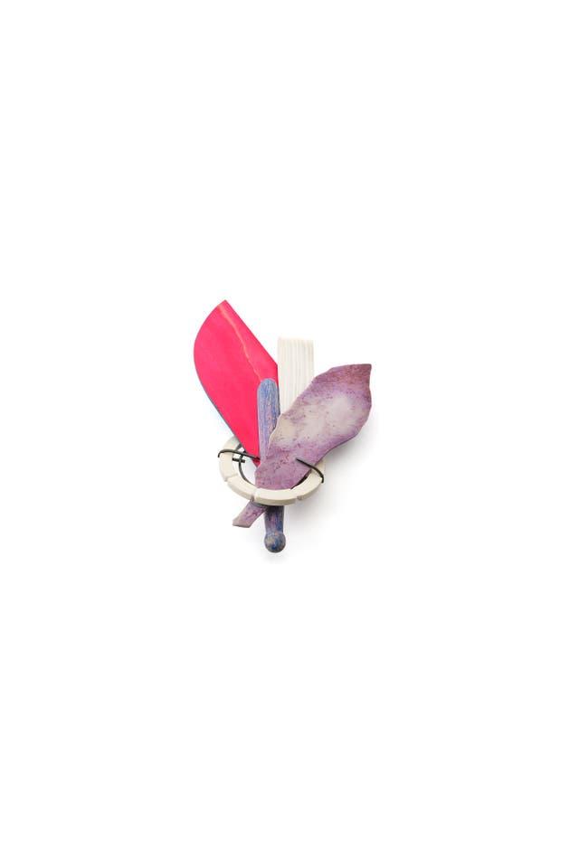 Bouquet para la Condesa Magenta, en exhibición hasta el próximo sábado en Lisboa