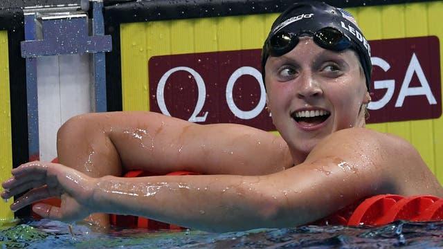 Katie Ledecky, la estrella del Mundial de Budapest