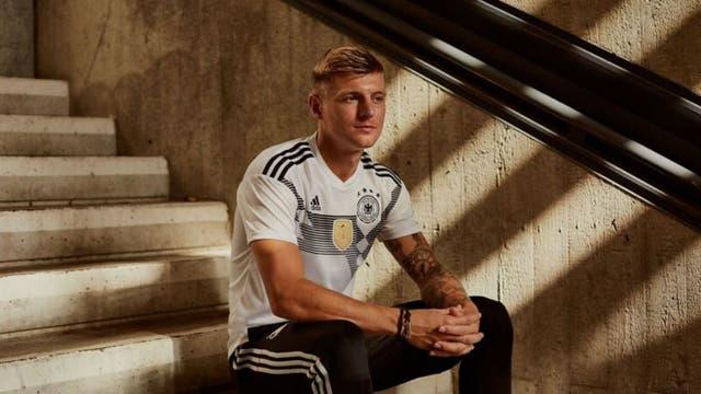 La camiseta de Alemania
