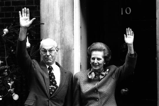 Margaret Thatcher  en marzo de 1987. Foto: Archivo