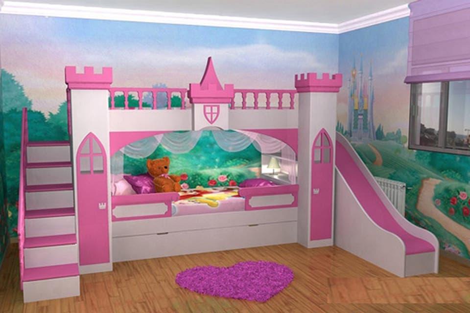 Objetos locos camas divertidas para ni os objetos locos - Camas pegadas ala pared ...