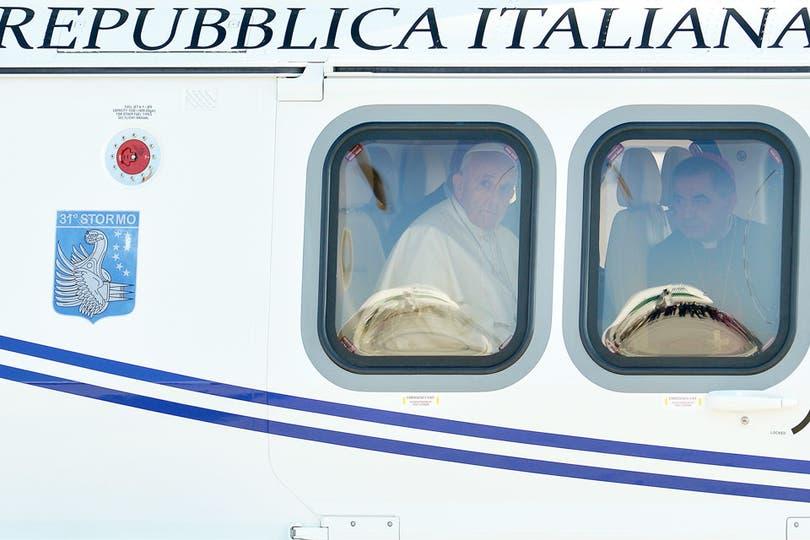 Se trata del primer viaje internacional de Jorge Bergoglio como Sumo Pontífice. Foto: EFE