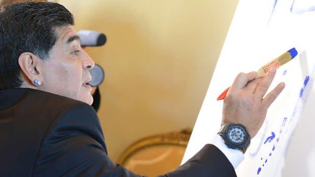 Maradona, un verdadero artista