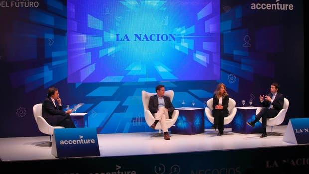 José Del Río, Diego Luzuriaga, Mariela Mociulsky y Federico Di Benedetto