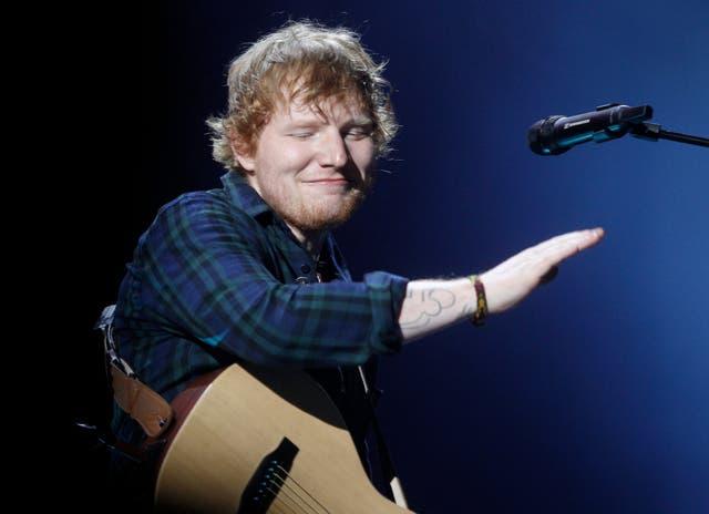 Ed Sheeran encantó a los argentinos