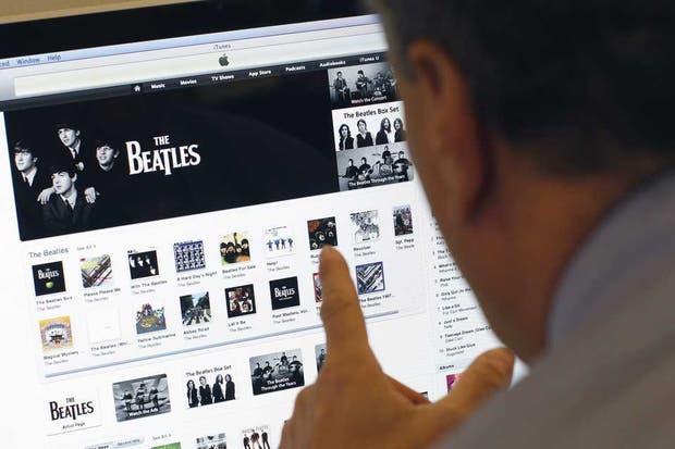 La discografía de The Beatles, una de las últimas grandes incorporaciones de la plataforma, en el iTunes Store, que cumplió 10 años