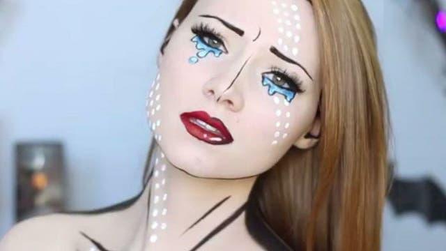 Maquillaje halloween 2016