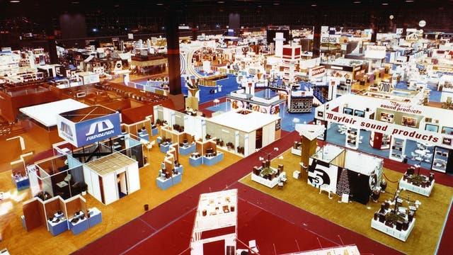 Una vista de la CES en 1972