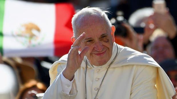 El papa Francisco en la audiencia general de hoy