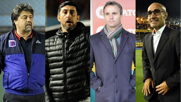 Caruso Lombardi, Díaz, Lavallén y Montero, protagonistas en varios clubes