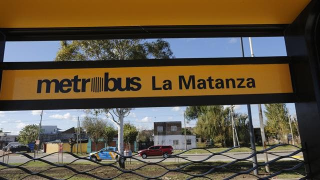 El Metrobús La Matanza fue inaugurado hoy